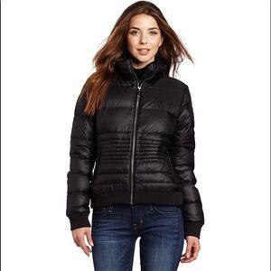 OAKLEY Womens Jacket Tree Line Puffer Zip Front M